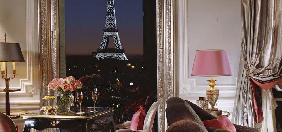 Top 5 Luxury Parisian Hotels