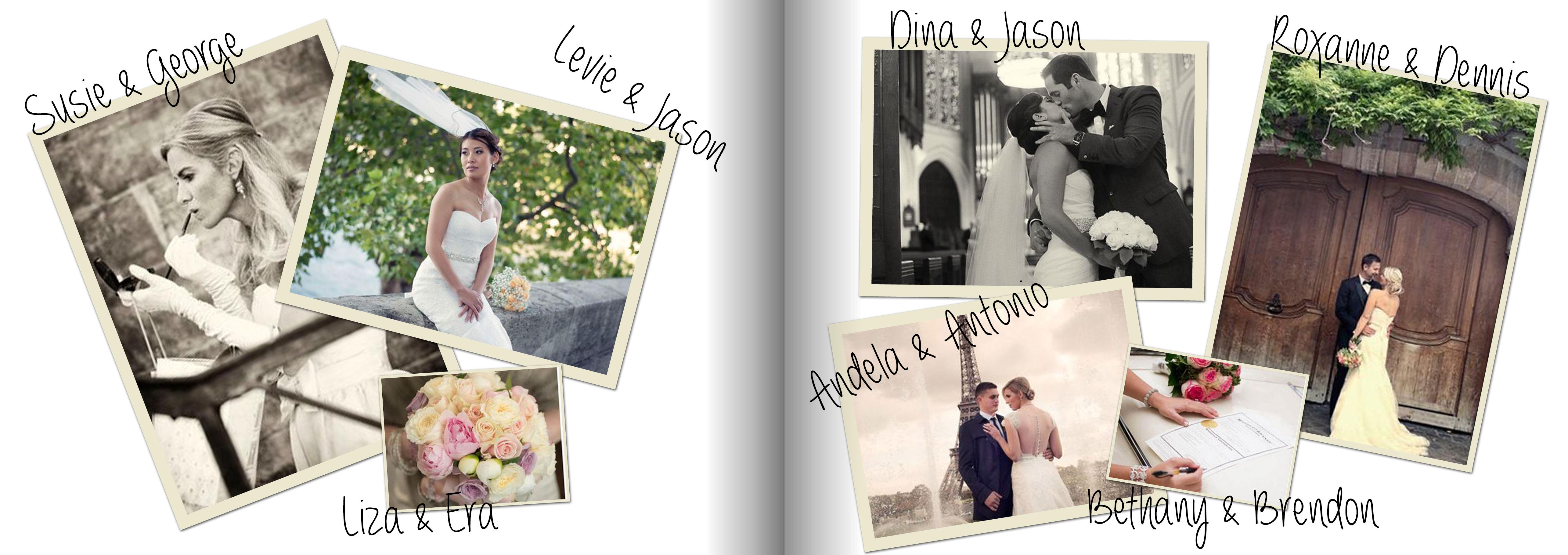 Wedding Photos Album Paris